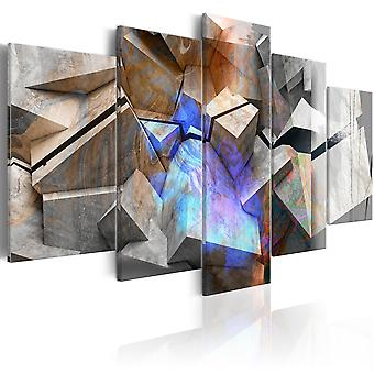 Canvas Print - Abstract Cubes
