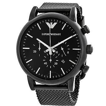 Emporio Armani Men's Quartz Stainless Steel Automatic Watch