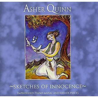 Asher (Asha) Quinn - importation USA Sketches of Innocence [CD]