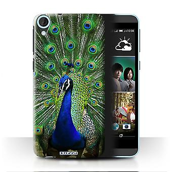 STUFF4 Case/Cover for HTC Desire 820s Dual/Peacock/Wildlife Animals