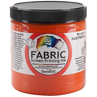 Fabric Screen Printing Ink 8 Ounces Orange Fspi8 4569