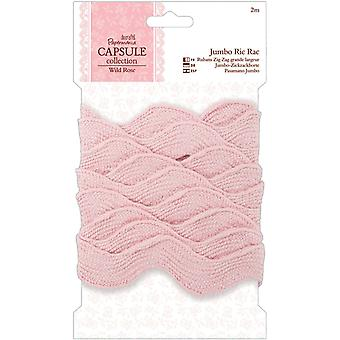 Papermania Wild Rose Jumbo Ric Rack 1