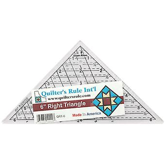 Mini Triangle Quilter's Ruler 6 3 4