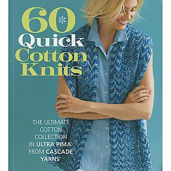 Sixth & Springs Books-60 Quick Cotton Knits SSB-21919