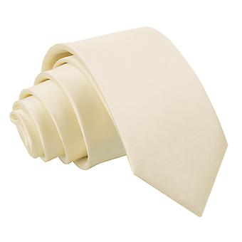Boy's Plain Champagne Satin Tie (8+ years)