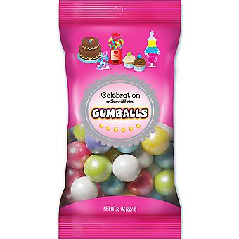 Celebrations By Sweetworks Gumballs 8oz-Shimmer (TM) Spring Mix CG74511