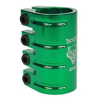 Bestial Wolf Green Aluminum clamp (Outdoor , On Wheels , Protection And Accessories)