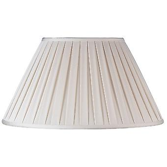 Endon CARLA-12 inch Cream Pleated Empire Lamp Shade