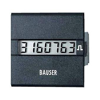 Bauser 3811.2.1.7.0.2 Digital timer or pulse counter - new! Twin solution Assembly dimensions 45 x 45 mm