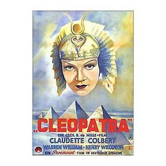 Cartaz do filme Cleopatra (11 x 17)