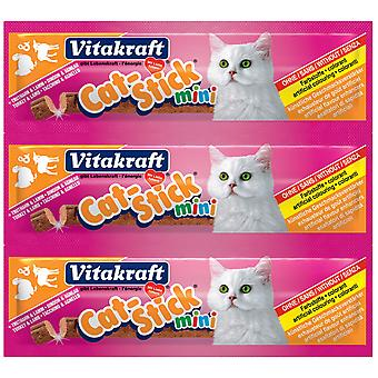 VITAKRAFT Cat Stick Mini Turkiet & lamm 3 Pack (20 Pack)