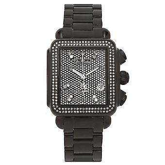Joe Rodeo diamond men's watch - MADISON black 1.5 ctw