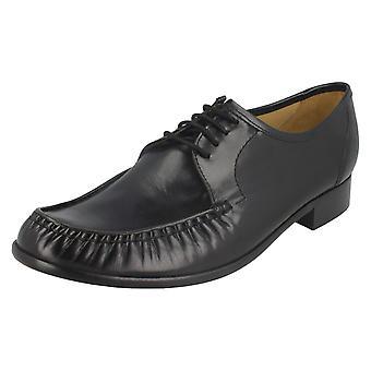 Herre Thomas stumpe lav hæl formelle snøre sko ' Crewe 2'