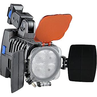 Dot.Foto VL-005 Professional 4-LED Video Light Digital Camera Camcorder Photography Lamp Adjustable