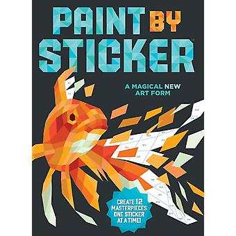 Paint by Sticker (Paperback) by Workman Publishing