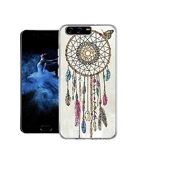 Dreamcatcher vlinderslag cover voor Huawei P10 Plus