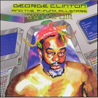 George Clinton & P-Funk All Stars - T.a.P.O.a.F.O.M. [CD] USA import