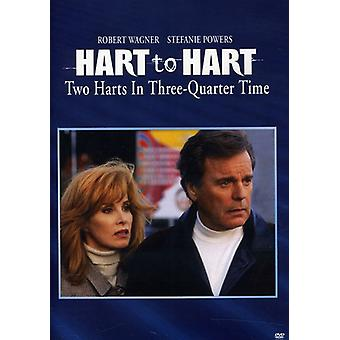 Hart to Hart: Two Harts in Three Quarters Time [DVD] USA import