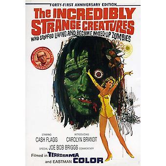 Utrolig importerer mærkelige væsner der stoppede levende & [DVD] USA