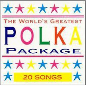 Verdens største Polka Pack - verdens største Polka Pack [CD] USA importerer