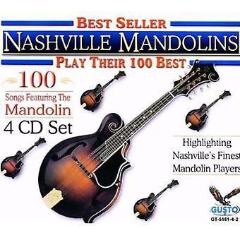 Nashville mandoliner - Play deres 100 bedste [CD] USA importerer