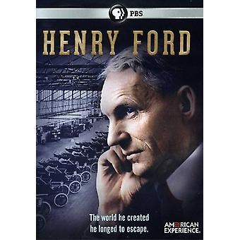 American Experience: Henry Ford [DVD] USA import