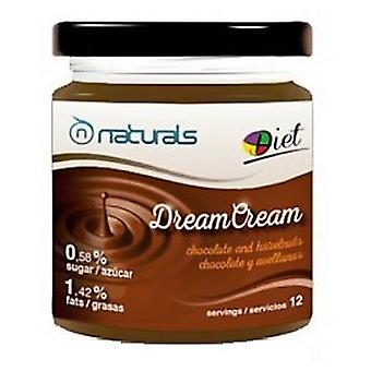N Naturals Dreamcream Hazelnut Chocolate 300 Gr (Sport , Proteins and carbohydrates)