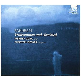 F. Schubert - Schubert: Importazione Willkommen Und Abschied [CD] Stati Uniti d'America