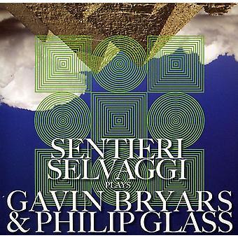 Sentieri Selvaggi - Sentieri Selvaggi spiller Gavin Bryars & Philip Glass [CD] USA import