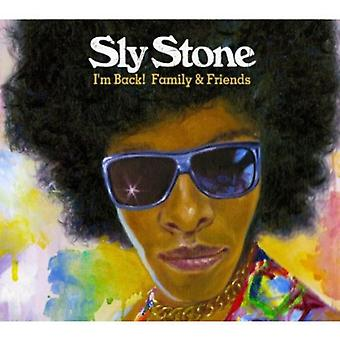 Sly Stone - ik ben terug! Familie & vrienden [CD] USA importeren