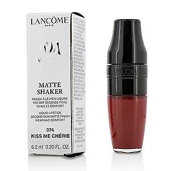 Lancome Matte Shaker Liquid Lipstick - # 374 Kiss Me Cherie - 6.2ml/0.2oz