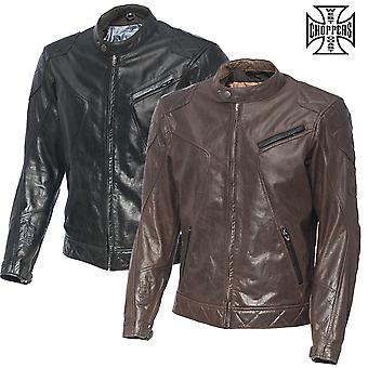 West Coast choppers jacket leather Dominator
