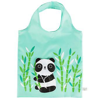 Sass & Belle Panda Foldable Shopping Bag