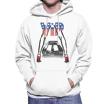 VIP-sexiga ben och bil män 's Hooded Sweatshirt