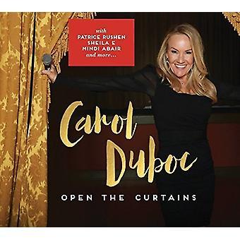 Carol Duboc - åbne gardiner [CD] USA importen