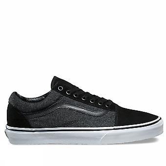 Furgonetas UA viejo skool Va38g1 OSN los caballeros zapatos de Moda