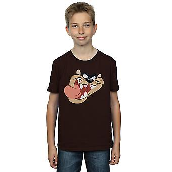 Looney Tunes Boys Tasmanian Devil Face T-Shirt