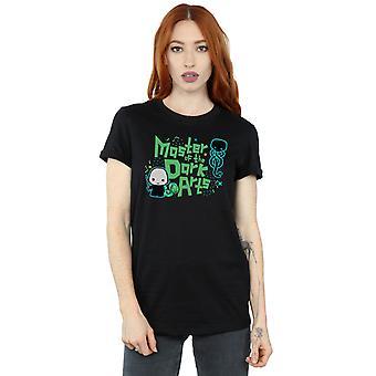 Harry Potter Women's Voldemort Dark Arts Junior Boyfriend Fit T-Shirt