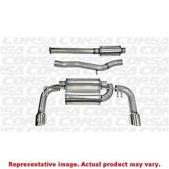 CORSA Performance Cat Back Exhaust 14858 Polished Fits:MITSUBISHI 2008 - 2008 L