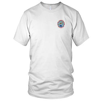 US Navy Navcomsta North West cape, Au Embroidered Patch - Mens T Shirt