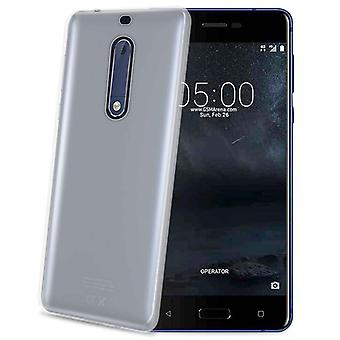Celly Gelskin TPU Cover Nokia 5 Tr