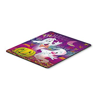 Buuu Ghosts Halloween Mouse Pad, Hot Pad or Trivet