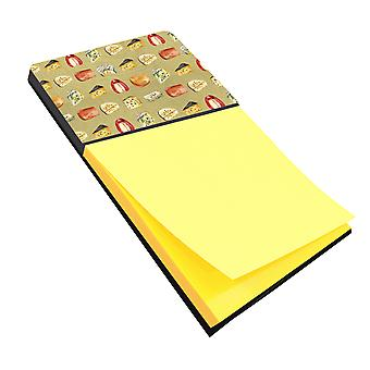 Carolines Treasures  BB5199SN Cheeses Sticky Note Holder