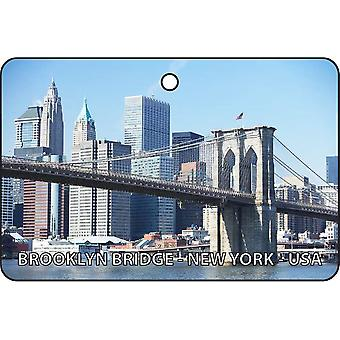 Brooklyn Bridge - New York - USA Car Air Freshener