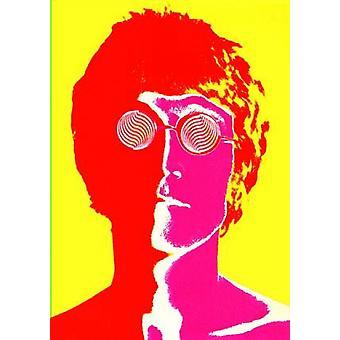 John Lennon Psyc Poster Poster Print