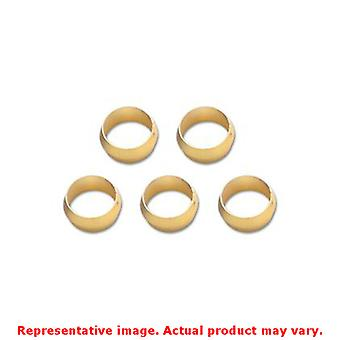 Vibrant Fittings - Tube Adapters 16465 5/16in Fits:UNIVERSAL 0 - 0 NON APPLICAT