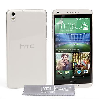HTC Desire 816 Hard Case - Crystal Clear