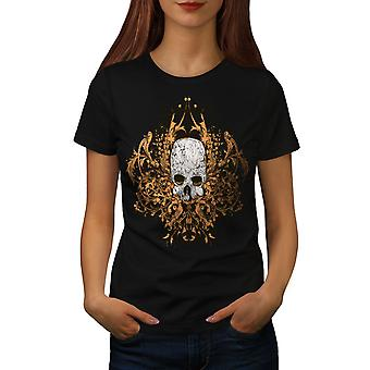 Death Metal Badass Frauen BlackT-Shirt   Wellcoda
