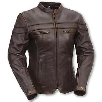 Katie Womens Leather Jacket