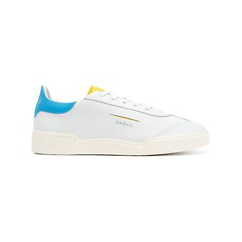 Ghoud men's L01MLLWY White leather of sneakers